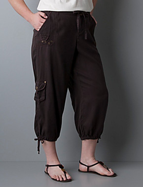 plus size capri pants - Pi Pants