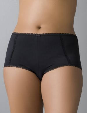 Beautiful lace trim boyshort panty