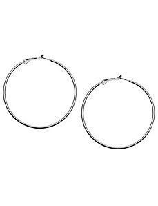 Oversized hoop earrings by Lane Bryant