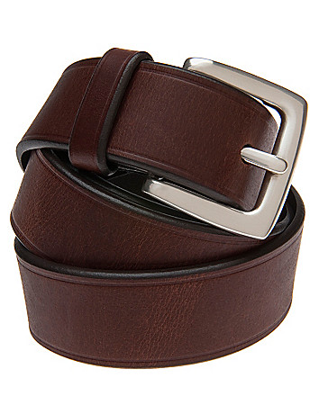 Full figure Smooth leather belt by Lane Bryant
