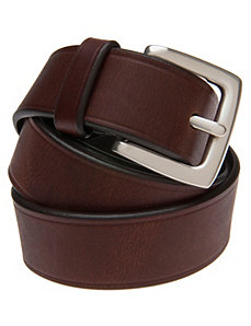 Smooth leather belt by Lane Bryant