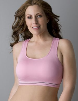 Microfiber seamless sports bra by Marika