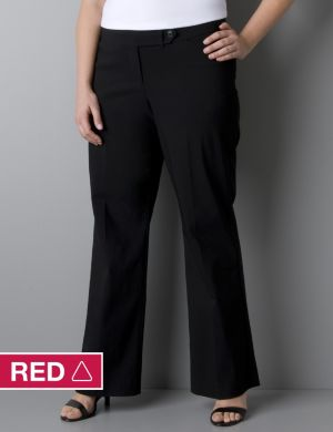 Classic leg career pant with Right Fit Technology