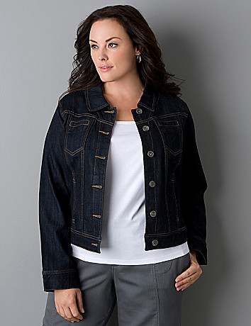 Denim jacket by Lane Bryant
