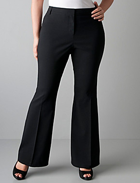 Dress pants with flare leg | Lane Bryant