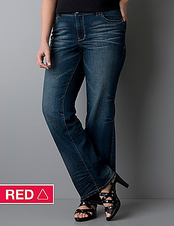 Plus size Distinctly Boot jean with Right Fit Technology