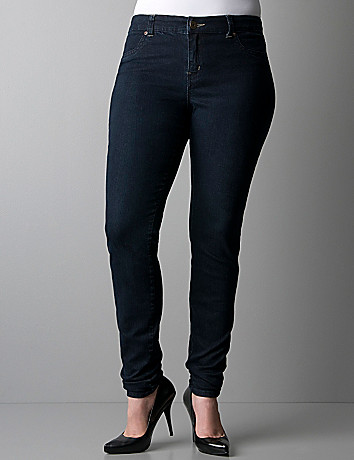 Plus size Dark wash jeggings by DKNY JEANS