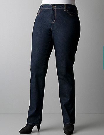 Plus size saturated straight leg jeans by DKNY JEANS