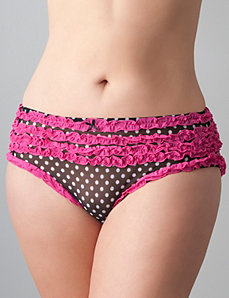 Polka dot rumba panty by Cacique