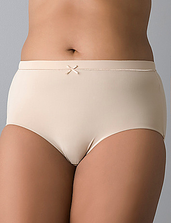 Women's comfy plus size Microfiber brief