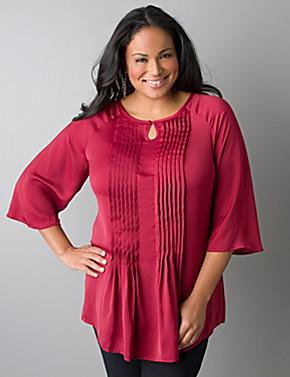 Pintuck Shirt Dress Plus Size Plus Size Pintuck Tunic Blouse