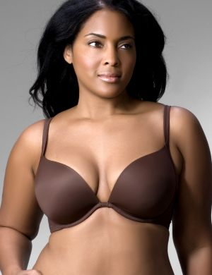 Smooth plunge bra