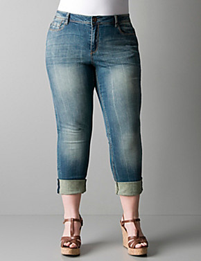 Plus Size Jean Capris | Bbg Clothing