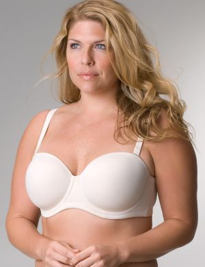 Seamless 5-way convertible bra