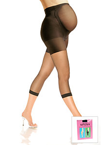 Mama Spanx maternity footless pantyhose in plus sizes