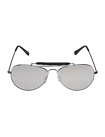 Silvertone aviator sunglasses