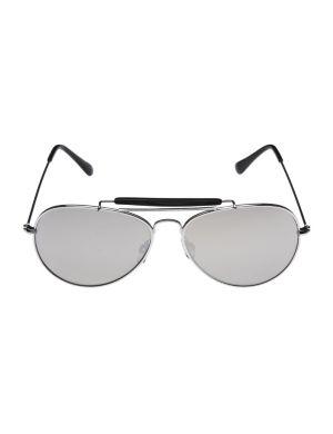 Silvertone aviator sunglasses