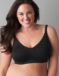 Plus size Body Silk seamless nursing bra by Bravado