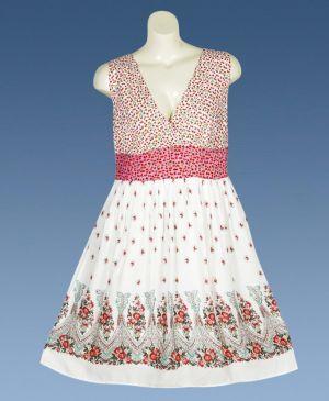 Dance Night Multi Color Print Dress