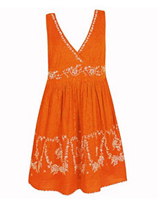 Orange Sky Dress by Blue Plate