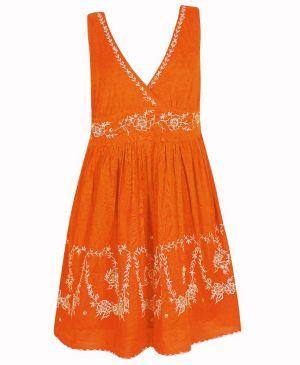 Orange Sky Dress