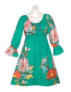Green Garden Dress by Blue Plate