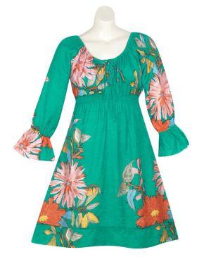Green Garden Dress