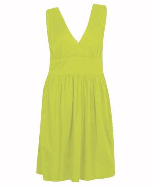 Lime Book Dress