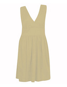 Beige Book Dress by Blue Plate