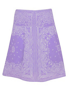 Lilac Smock Waist Skirt by Blue Plate
