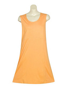 Solid Orange Knit Tank by Blue Plate