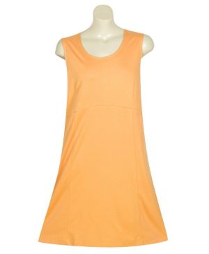 Solid Orange Knit Tank