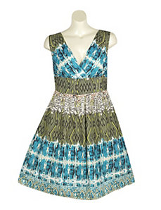 Beautiful Print Dress by Blue Plate