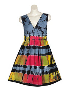 Black Tie Dye Dress by Blue Plate