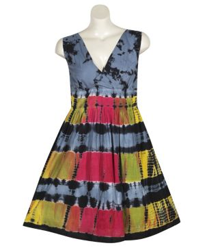 Black Tie Dye Dress