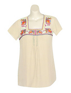 Embroidered Top by Blue Plate