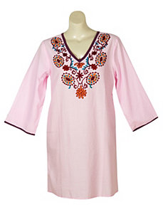 Pink Hippie Chic Tunic by Blue Plate