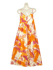 Happy Print Maxi Dress by Blue Plate