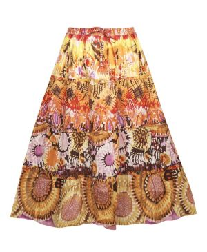 Orange Outrage Skirt