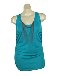 Blue Tunic Tank by Miss Majesty