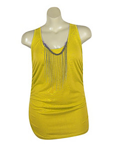 Yellow Tunic Tank by Miss Majesty