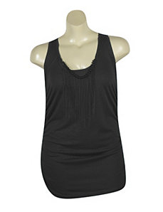 Black Tunic Tank by Miss Majesty