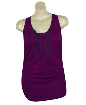 Purple Tunic Tank
