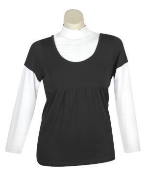 Black Rush Top