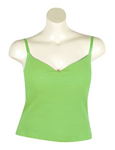 Green Molded Cup Tank by One Step Up Plus