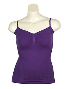 Purple Seamless Tank Top by One Step Up Plus