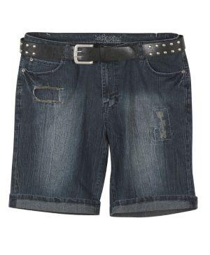 Belted Bermuda Short