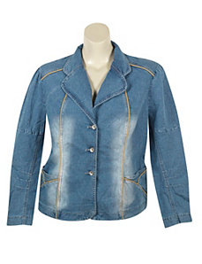 Daring Denim Jacket by Revolt Jeans