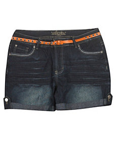 Around The World Short by Revolt Jeans