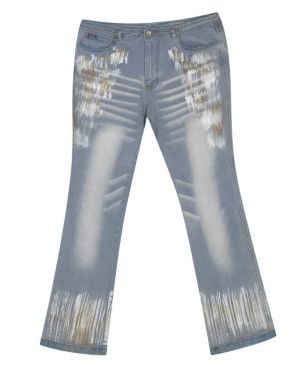 Painted Glitter Jean